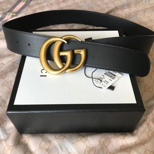 Gucci Marmont GG buckle Belt